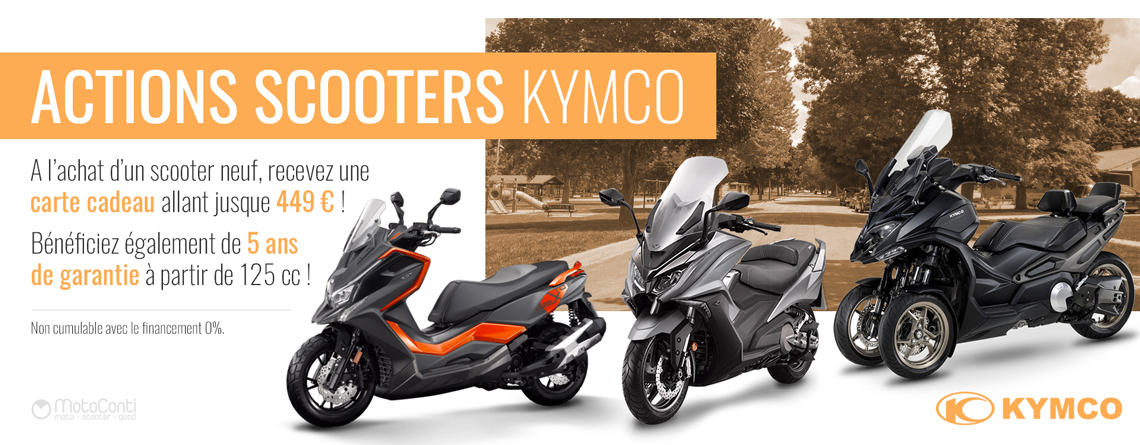 Action Kymco Scooter